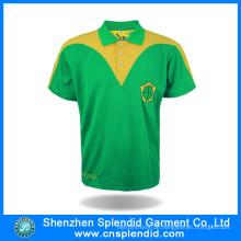 Custom Design Mode Kleidung leere Plain Golf Polo-Shirt
