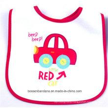 Customized Design Printed Cotton Terry Baby Wear Baby Bib Apron