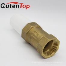 Gutentop высокое качество Латунь Весна воды обратный клапан с пластиковой сеткой с хорошим ценой