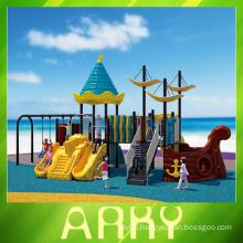 newest design children outdoor playground equipment