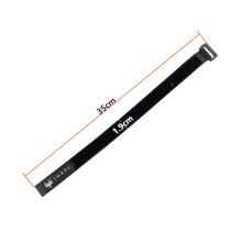 Drone battery strap Magic Tape  Black Nylon