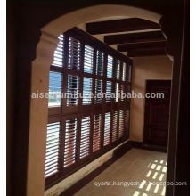 Manufacturer for Solid wood/basswood plantation shutter with classic design