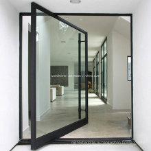 Современная поворотная дверь Hanssuno