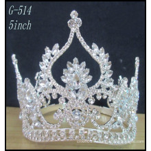 Серебряные дети принцессы тиары оптовые Горячие девушки красоты красоты Tiara Корона