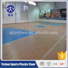 Good rebound 100% pure pvc wear layer basketball floor for sale