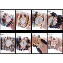 Yxl-405 2016 New Styles Selling Fashion Lady Watches Wrist Gift Lady Vogue Leather Bracelet Band Quartz Watch for Women