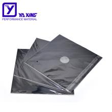 hot sale 0.2mm ptfe coated fiberglass stove mat Black Gas Stove Burner Covers Stove Top Liner