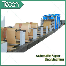 Machine de fabrication de sacs en papier Kraft chimique haute vitesse