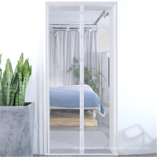 NX252 wholesale New Design mute magnetic mosquito net door curtain with strong magnet for Anti Mosquito