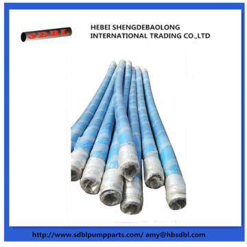 Saruji Pump Steel Wire Mpira Flexible Hose