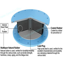 Seismic Isolation Bearing for Base Construction
