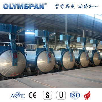 Autoclave ASME in cemento standard