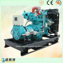 40kw silenciador de agua enfriado grupo de generadores de gas