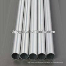 Tubo de alumínio extrudido redondo Espessura de parede fina