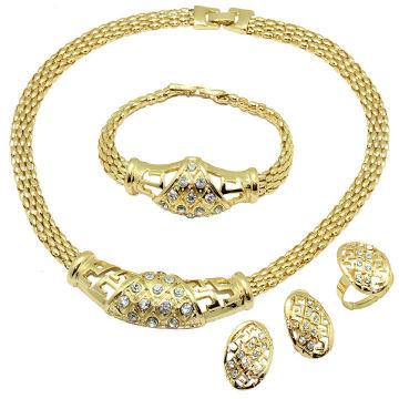 Ensemble de bijoux en alliage de haute qualité pour femmes