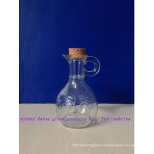 150ml Beak Shaped Glass Oil Bottle with Cork or Plastic Stopper