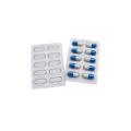 Bandeja de embalagem blister de cápsula transparente médica personalizada
