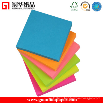 Colorful Paper Sticky Notes Standard Memo Pad with Great Price