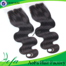 Hot Selling Iidian Virgin Hair/Human Hair Lace Closure