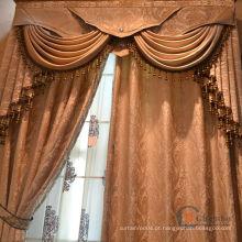 Janela de cortina de algodão bonito moda design persianas de janela magnética