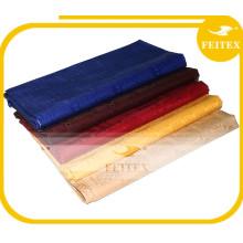 Vêtements de mode de la jeune fille Africaine Nouveau Coton Bazin Tissu Shadda Wholesales Fabriqué en Chine