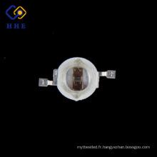 Promotion haute luminosité 5w 740nm ir haute puissance infrarouge led