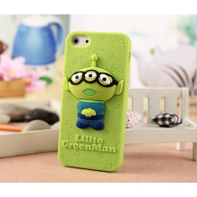 Hotsale! Purple Soft Silicone Case for iPhone 5, for iPhone 5 Case