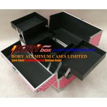 Сверхпрочные металлические футляры для жесткой косметики в алюминиевой коробке