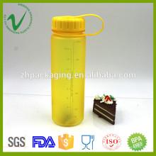 Tritan PCTG rond bouteille en plastique liquide vide de 500 ml avec sérigraphie