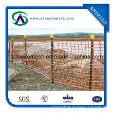 4'x50 'Orange Winter Barrier Zaun