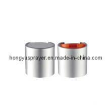 Hot Sale Sliver Plastic Cap for Bottles (HY-Q04B)
