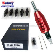 Solong High Quality 25mm 1 Inch Tattoo Tubes Aluminum Sterile Tattoo Machine Grip