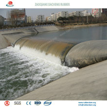Salable Bookend Inflatable Rubber Dam for Flood Protection