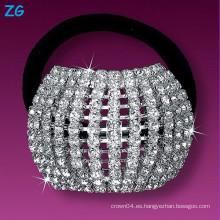 Gorgeous collar de pelo de las muchachas de cristal, venda francesa del pelo, accesorios del pelo venda del pelo de la boda