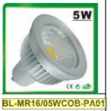 Proyector LED 5W regulable / no regulable MR16 COB
