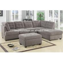 modern fabric living room sectional sofa XYN2065
