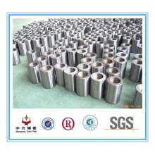 Exportación de fábrica alta calidad de rosca recta de varilla corrugada manga de acero