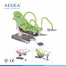 AG-S105B Usó la aplicación médica silla ginecológica del funcionamiento del hospital