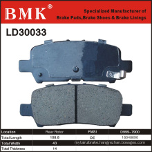 Environment Friendly Brake Pad (LD30033)