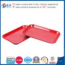 Tinplate Baking Tray Aluminum Serving Tray-Jy-Wd-2015110503