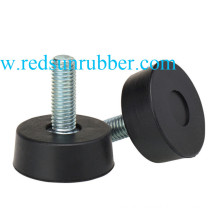 Custom Molded Silicone Rubber Feet with Screw