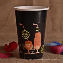 Copo de café quente das vendas com tampa