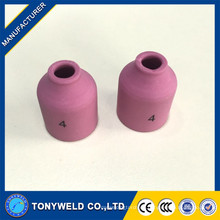 Puntas de soplete de soldadura tig boquilla cerámica 53N58 53N59 53N60