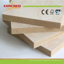 High Gloss MDF Melamine Board/Raw Plain MDF Decorative Wall Panel for Interior Door 2mm-30mm