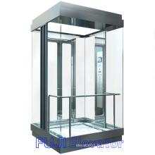 Ascenseur panoramique FUJI (tout type de carré de verre)