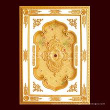 1.6 * 2.2m Seven Star Dibai Brand Plafond artistique pour l'hôtel