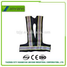 ropa reflectante poliéster armada malla con cinta de oxford yllow
