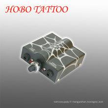 Mini alimentation d'alimentation de commutateur de machine de tatouage avec le câble d'agrafe Hb1005-10