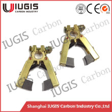 1 Pair Carbon Brush Holder for Slip Ring Collector Ring Use