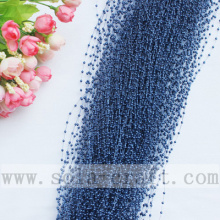 Sapphire Color Imitation Pearl Beaded Strand String Garland Patterns
